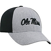 Top of the World Men's Ole Miss Rebels Grey/Black Faboo 1Fit Hat
