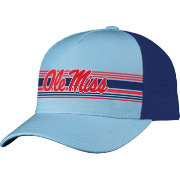 Top of the World Men's Ole Miss Rebels Blue Inferno Adjustable Hat
