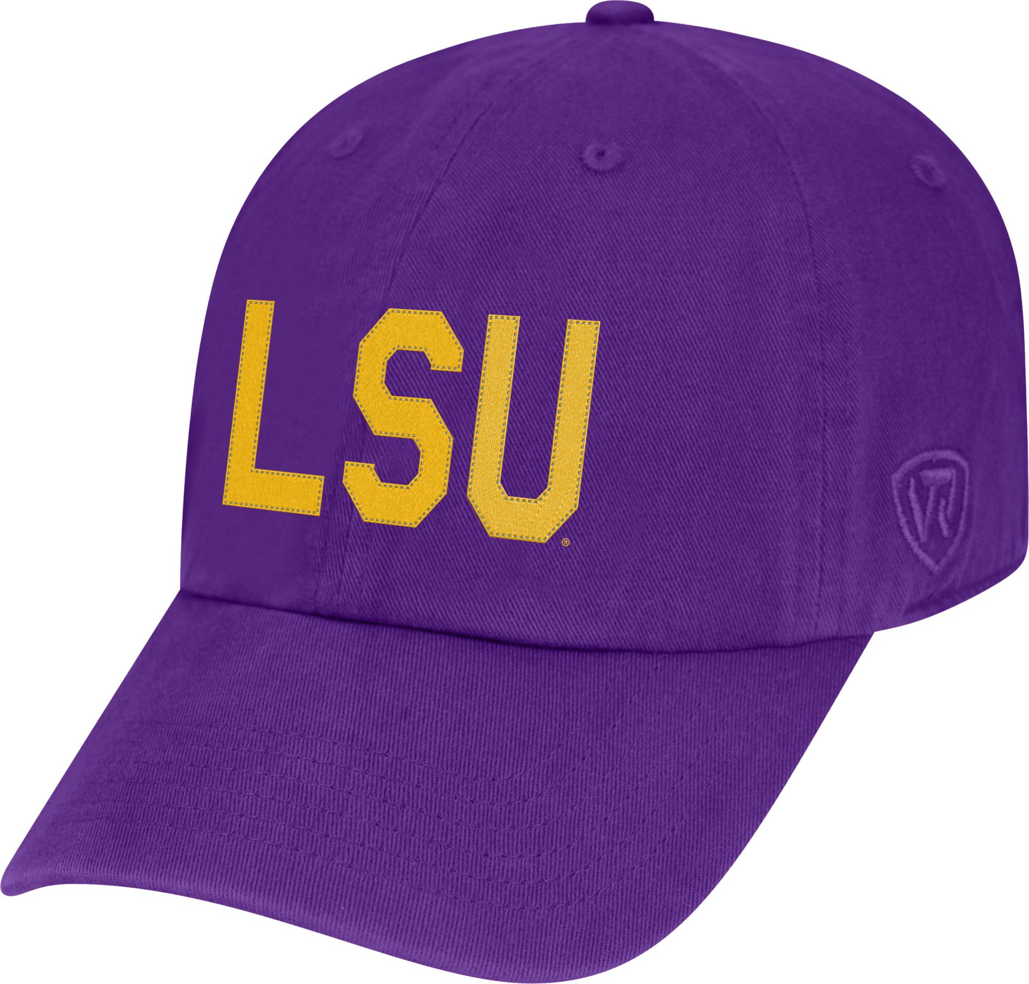 new product f8b02 be8af ... good top of the world mens lsu tigers purple district adjustable hat  901be 3eedb