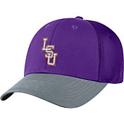 Top of the World Men's LSU Tigers Purple Twill Elite Mesh 1Fit Flex Hat