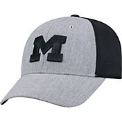 Top of the World Men's Michigan Wolverines Grey/Black Faboo 1Fit Hat