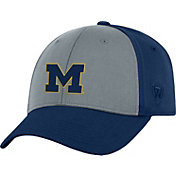 Top of the World Men's Michigan Wolverines Grey/Blue Two Tone Adjustable Hat