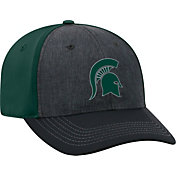 Top of the World Men's Michigan State Spartans Grey/Green Reach 1Fit Flex Hat