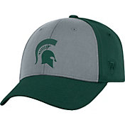 Top of the World Men's Michigan State Spartans Grey/Green Two Tone Adjustable Hat