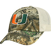 Top of the World Men's Miami Hurricanes Camo Sentry Adjustable Hat