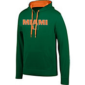 Top of the World Men's Miami Hurricanes Green Foundation Hoodie