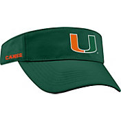 Top of the World Men's Miami Hurricanes Green Visor