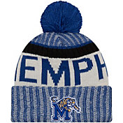 New Era Men's Memphis Tigers Blue Sport Knit Beanie