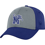 Top of the World Men's Memphis Tigers Grey/Blue Two Tone Adjustable Hat