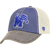 Top of the World Men's Memphis Tigers Blue Off Road Adjustable Hat