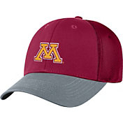 Top of the World Men's Minnesota Golden Gophers Maroon Twill Elite Mesh 1Fit Flex Hat