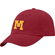 Top of the World Men's Minnesota Golden Gophers Maroon Staple Vintage Patch Adjustable Hat
