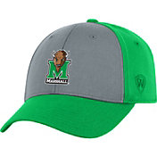 Top of the World Men's Marshall Thundering Herd Grey/Green Two Tone Adjustable Hat