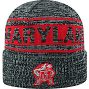 Top of the World Men's Maryland Terrapins Sockit To Me Grey Knit Beanie