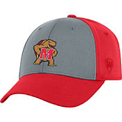 Top of the World Men's Maryland Terrapins Grey/Red Two Tone Adjustable Hat