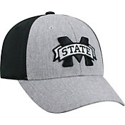 Top of the World Men's Mississippi State Bulldogs Grey/Black Faboo 1Fit Hat