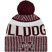 New Era Men's Mississippi State Bulldogs Maroon Sport Knit Beanie