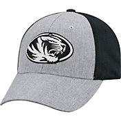 Top of the World Men's Missouri Tigers Grey/Black Faboo 1Fit Hat