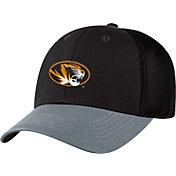 Top of the World Men's Missouri Tigers Black Twill Elite Mesh 1Fit Flex Hat
