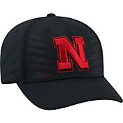 Top of the World Men's Nebraska Cornhuskers Dazed 1Fit Flex Black Hat