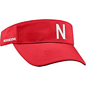 Top of the World Men's Nebraska Cornhuskers Scarlet Visor