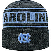 Top of the World Men's North Carolina Tar Heels Sockit To Me Grey Knit Beanie