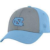 Top of the World Men's North Carolina Tar Heels Grey/Carolina Blue Two Tone Adjustable Hat