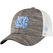 Top of the World Men's North Carolina Tar Heels Grey Warmup Adjustable Hat