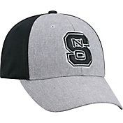 Top of the World Men's NC State Wolfpack Grey/Black Faboo 1Fit Hat