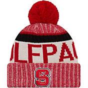 New Era Men's NC State Wolfpack Red Sport Knit Beanie