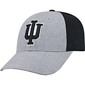 Top of the World Men's Indiana Hoosiers Grey/Black Faboo 1Fit Hat