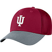 Top of the World Men's Indiana Hoosiers Crimson Twill Elite Mesh 1Fit Flex Hat