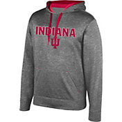 Top of the World Men's Indiana Hoosiers Grey Foundation Hoodie