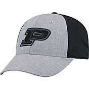 Top of the World Men's Purdue Boilermakers Grey/Black Faboo 1Fit Hat