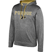 Top of the World Men's Purdue Boilermakers Grey Foundation Hoodie