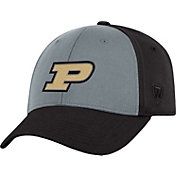 Top of the World Men's Purdue Boilermakers Grey/Black Two Tone Adjustable Hat