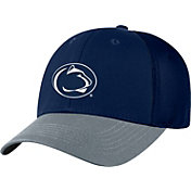Top of the World Men's Penn State Nittany Lions Blue Twill Elite Mesh 1Fit Flex Hat