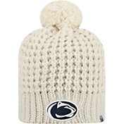 Top of the World Women's Penn State Nittany Lions Slouch White Knit Beanie