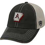 Top of the World Men's Arkansas Razorbacks Grey United Adjustable Snapback Hat