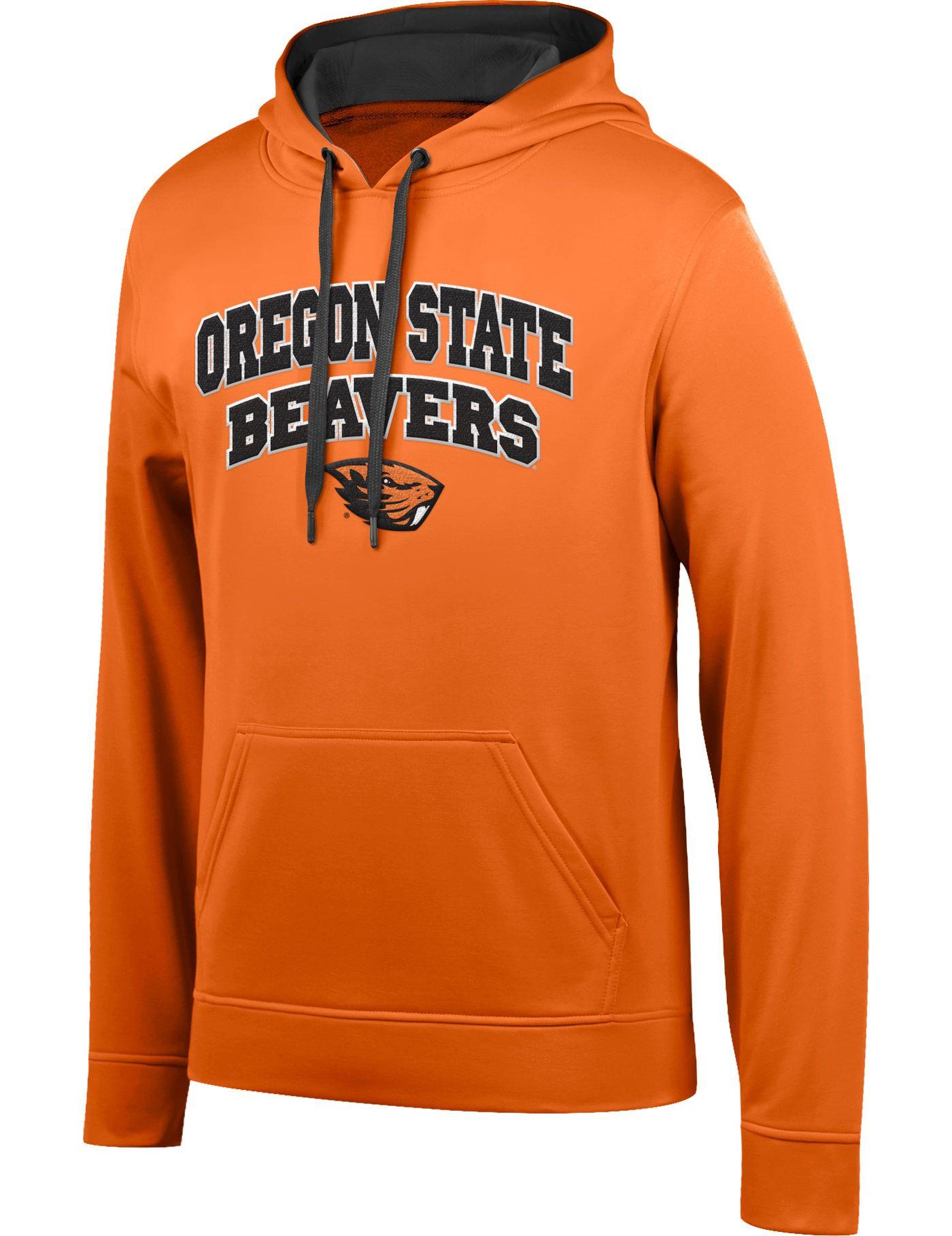 Top of the World Men's Oregon State Beavers Orange Foundation Hoodie