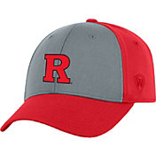 Top of the World Men's Rutgers Scarlet Knights Grey/Scarlet Two Tone Adjustable Hat