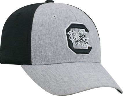 f661fd88 ... closeout top of the world mens south carolina gamecocks grey black  faboo 1fit hat f8f08 65ddf