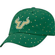 Top of the World Women's South Florida Green Starlite Adjustable Hat