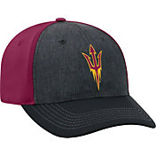 Top of the World Men's Arizona State Sun Devils Grey/Maroon Reach 1Fit Flex Hat