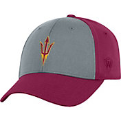 Top of the World Men's Arizona State Sun Devils Grey/Maroon Two Tone Adjustable Hat