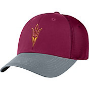 Top of the World Men's Arizona State Sun Devils Maroon Twill Elite Mesh 1Fit Flex Hat