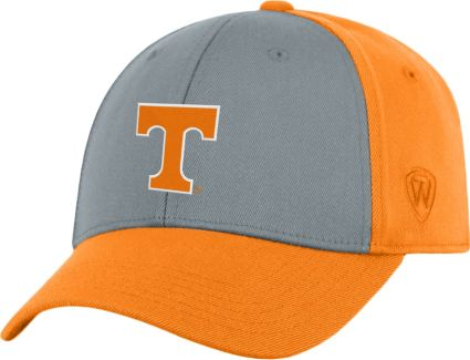 pretty nice 276a5 d635e ... sweden top of the world mens tennessee volunteers grey tennessee orange  two tone adjustable hat 4cb41