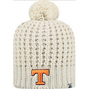 Top of the World Women's Tennessee Volunteers Slouch White Knit Beanie