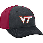 Top of the World Men's Virginia Tech Hokies Grey/Maroon Reach 1Fit Flex Hat