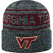 Top of the World Men's Virginia Tech Hokies Sockit To Me Grey Knit Beanie